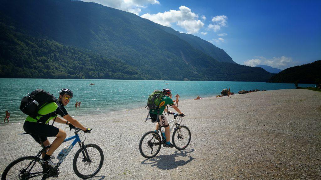 Lago di Molveno, Transalp, Andalo Riva