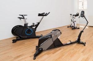 Bei Tristyle in Wien kann der Test auf einem Ergometer oder auf einem eingehängten Rennrad auf der Rolle durchgeführt werden
